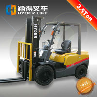 Hot sale New 3.5 ton 4wd forklift price made in china