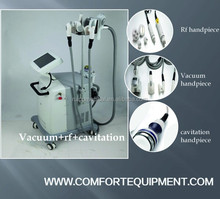 Hot Sale! 3 in 1 Ultrasonic Cavitation RF Slimming Beauty Machine super body vacuum cellulite sucking system