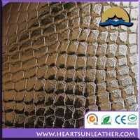 decorative decals for furniture of PU/PVC soft artficial leather woven or nonwoven fabric