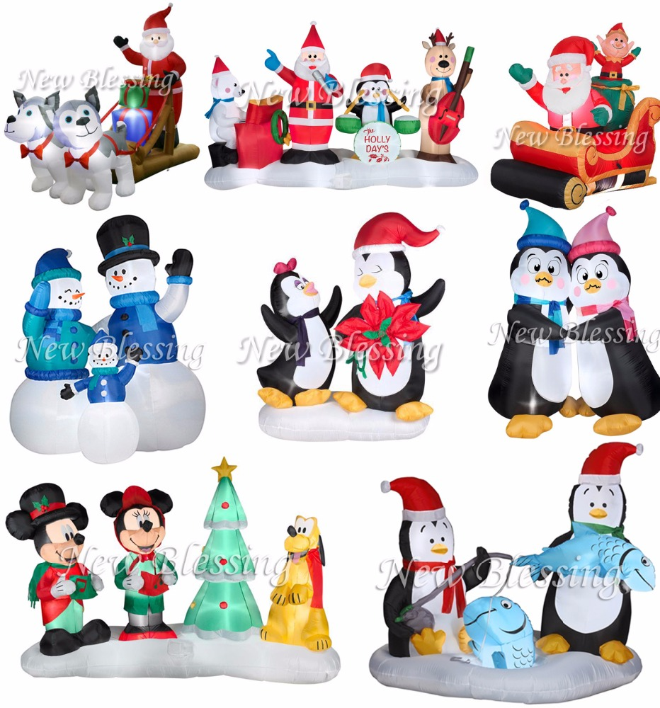 Outdoor Advertising Christmas Used Inflatable Christmas Penguin