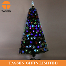 OEM size christmas tree pine pvc tree for Xmas decoration fashion led christmas tree in stock