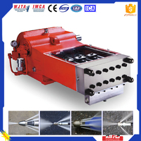 2015 Best Feedback Frequently Used 2480bar Rubber Cleaning Water Jet Road Marking Removal Machine
