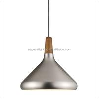 Modern chrome metal pendant light lamp made in china