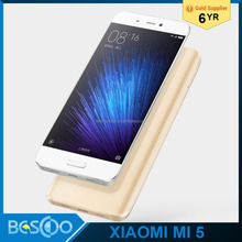 "2016 newest original xiaomi mi 5 mobile phone Quad core smart phone Qualcomm Snapdragon 820 5.15 "" FHD screen smart phone"