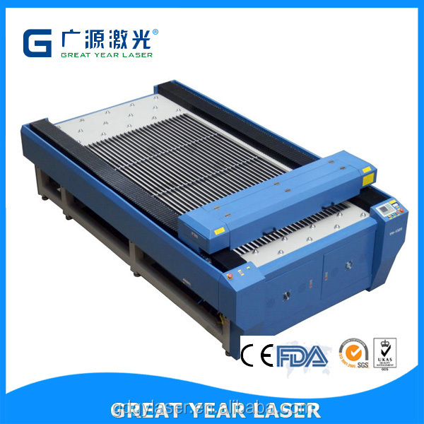Guangzhou 400W 260W 150W industrial laser wood and metal cutting and engraving machine,metal laser cutting machine , cnc laser