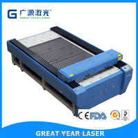 Guangzhou 400W 260W 150W industrial laser wood and metal cutting and engraving machine,metal laser cutting machine , cnc laser