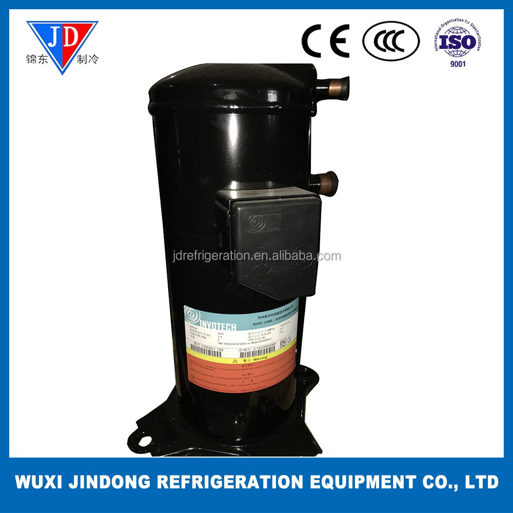High efficiency air conditioner scroll compressor