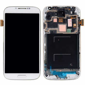 Brand New for Samsung S4 i9500 LCD, Touch Digitizer Screen Frame Assembly, for Samsung Galaxy s4 gt 9500 lcd Touch Screen