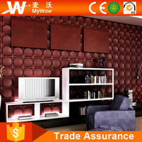 [WS22M5] Warm Luxury Bedroom Living Room 3D PVC Cold Room Wall Panels
