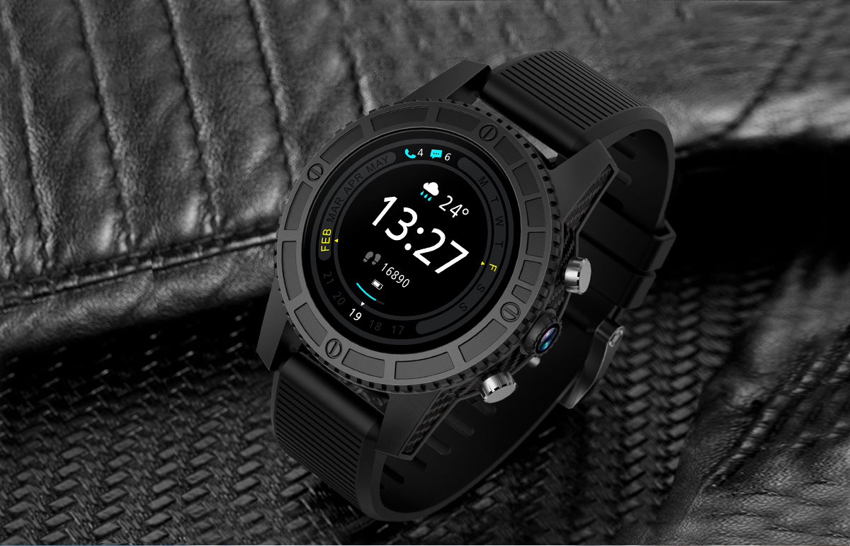 SMA-I7 MTK6737 Android 7.0 OS Silicone Sport Wristband SIM Card 4G WIFI GPS Google Play Heart Rate Smart Watch
