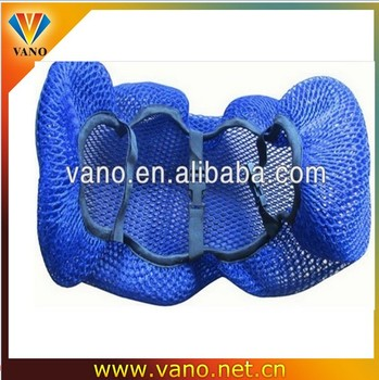 GOOd quality cheap 3D mesh motorcycle seat cover