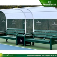 Tennis outdoor bench, Rest bench ,Sectional Aluminum Benches