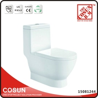American Standard Square Men One Piece Toilet Bowl