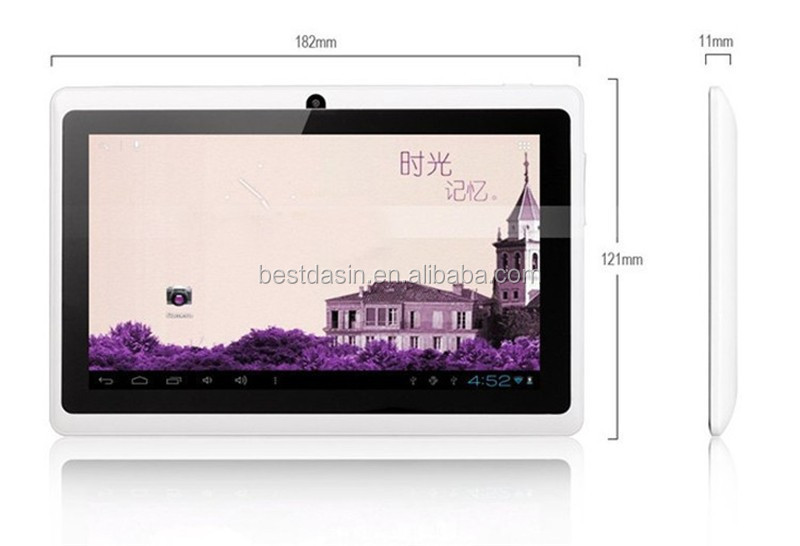 new design Paypal Acceptable Stocked High Definion 1024*600 3G Tablet PC 7Inch, Quad Core 3G Tablet