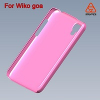cheap price protective cover for Wiko Goa, for Wiko plastic hard back case