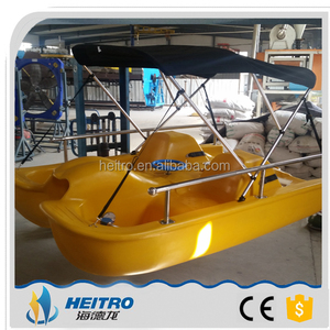 HEITRO PE dolphin boat HDL-240 2 persons pedalo one person paddle boat