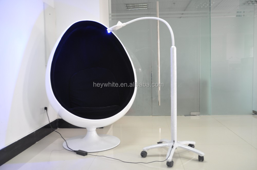 Cool blue light led teeth whitening lamp dental cleaning machine