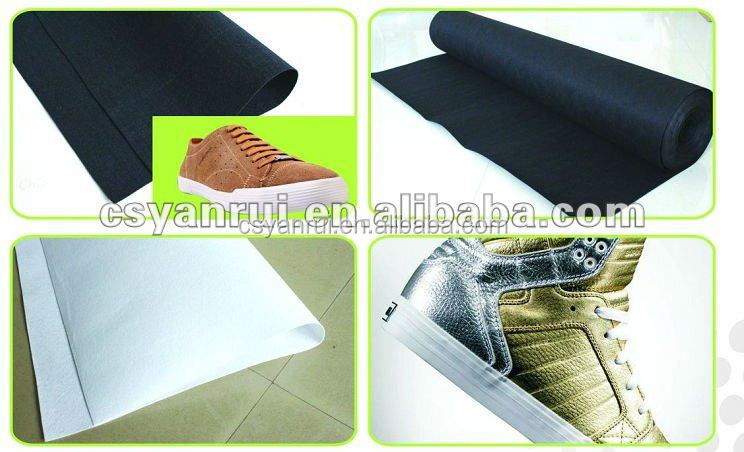 100% Polyester for shoes pad