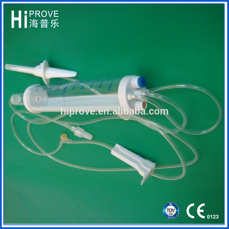DISPOSABLE IV INFUSION SET WITH BURETTE 100ml/150ml 60 drops/ml Sterile Prices