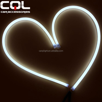 CQL 12 volt led light strips,85cm silicone coated led strips LED Flexible DRL ,Double colors DRL aluminum channel for led strips