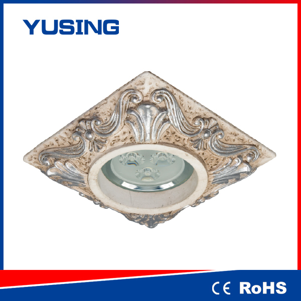 LED Down Light Gypsum Downlight Cover