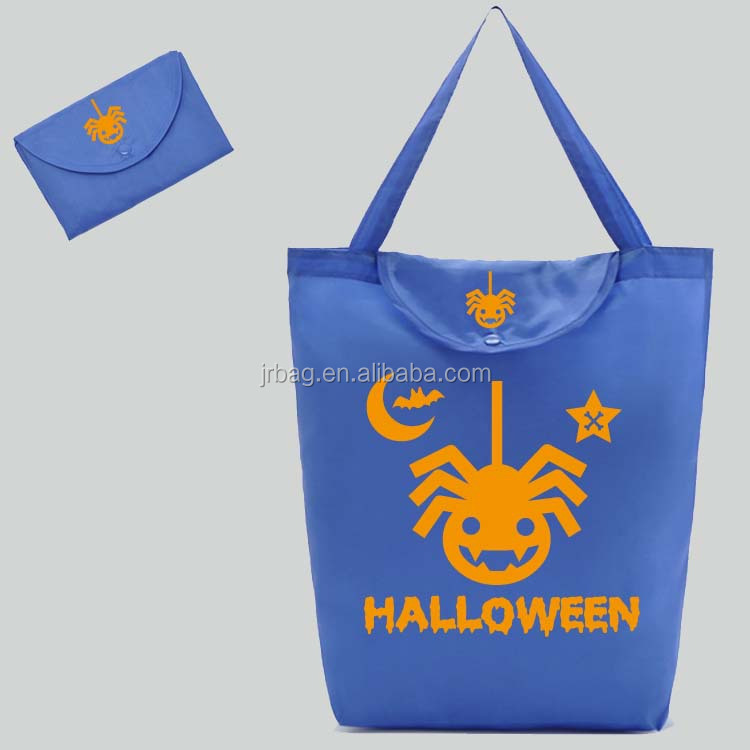 Halloween holiday foldable shopping bag