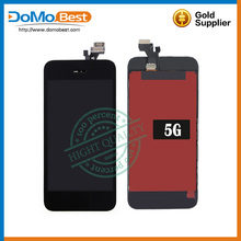 for apple for iphone 5 lcd display touch screen replacment with digitizer for iphone 5G screen