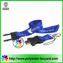 Hot sale lanyard thumb drive