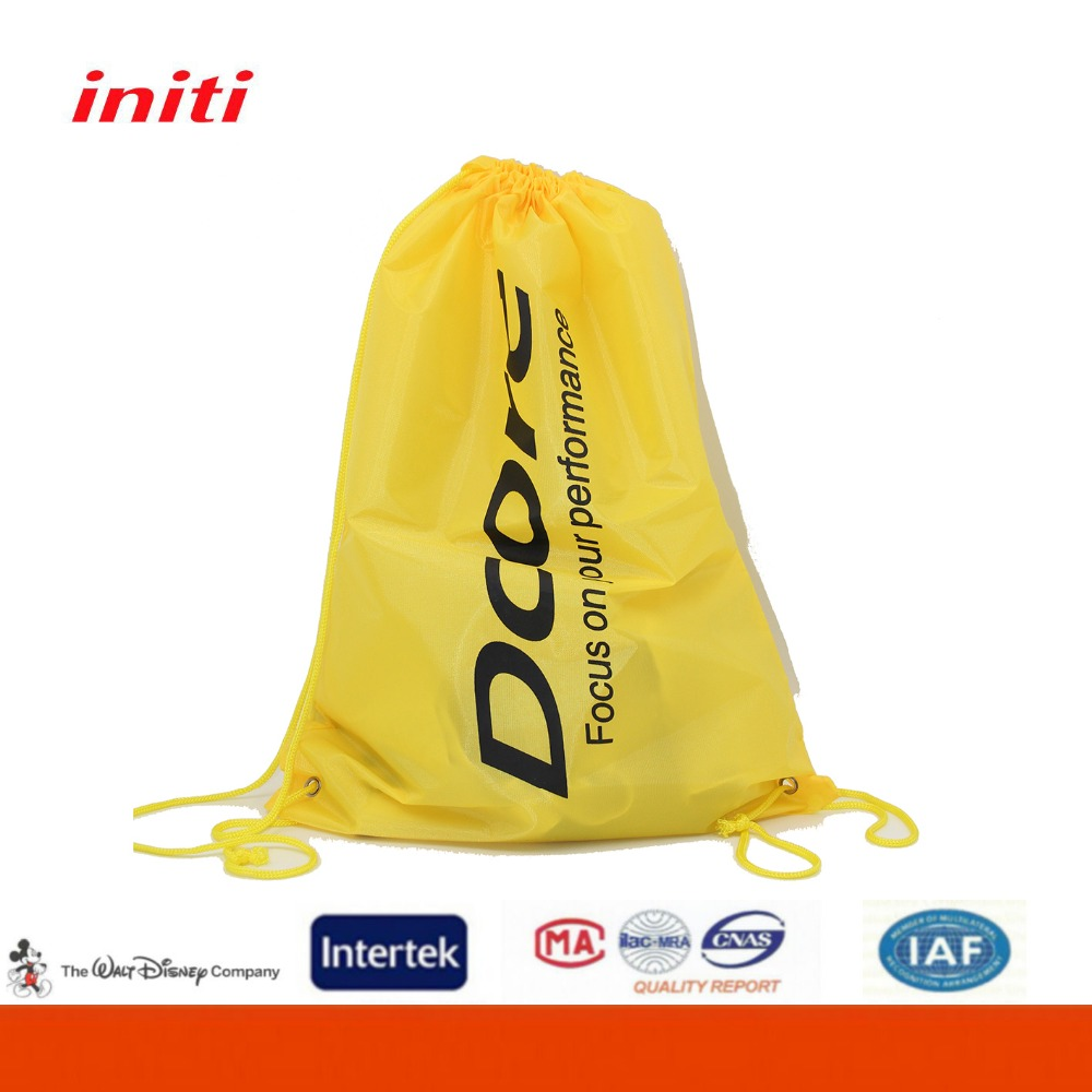 China Factory Wholesale Foldable Shoe Drawstring Bag