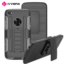 IVYMAX 3-in-1 Holster Combo Case For Alcatel idol 5 Kickstand TV Mobile Phone Case For Alcatel idol 5