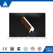 Good quality modern ASA co-extruded pvc casement window profile
