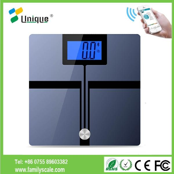 cheap bathroom body fat weight app bluetooth enabled wireless bluetooth scale