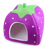 Cute pet house strawberry cat beds