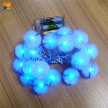 2018 high quality PVC wire star cover LED string Light for holiday decoration