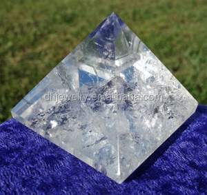 Water Clear Quartz Crystal Pyramid Point Brazil Reiki Healing Light & Love