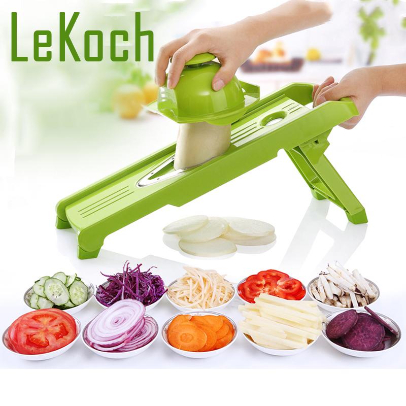 Lekoch 2016 Nueva Mandolina V Slicer Profesional Slicer