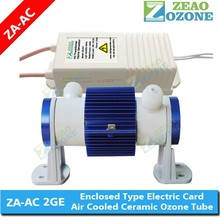 High efficiency adjustable O3 output ceramic tube ozone generator