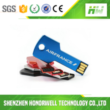Key Shape customer logo usb flash drive 4G 8G bulk cheap