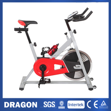HOME FITNESS GYM LED MONITOR SB465 FULLY ADJUSTABLE NEW HEAVY DUTY SPIN FLYWHEEL EXERCISE BIKE