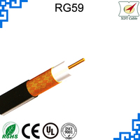 High Quality 0.81mm 90% RG 59 Coaxial Cable