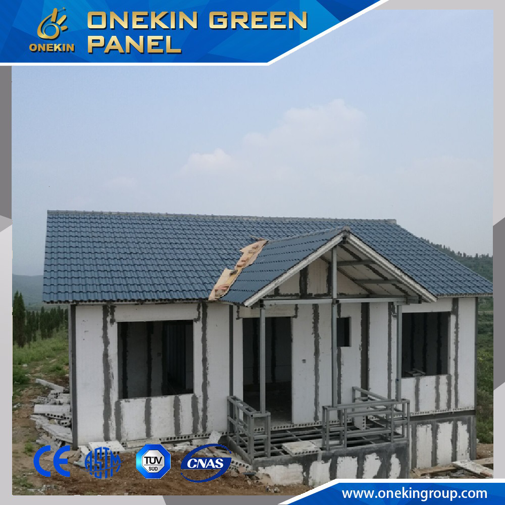 Onekin lightweight and soundproof panel for double container house