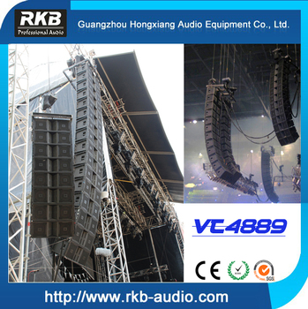 VT4889 line array/3-way line array speaker/passive line array system