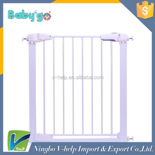 Metal Safety Door Adjustable Baby Gate Pet Barrier Child Safety Gate