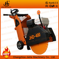 Manufactory easy used cutter is asphalt manual with a free saw blade,names road construction machinery(JHD-400)