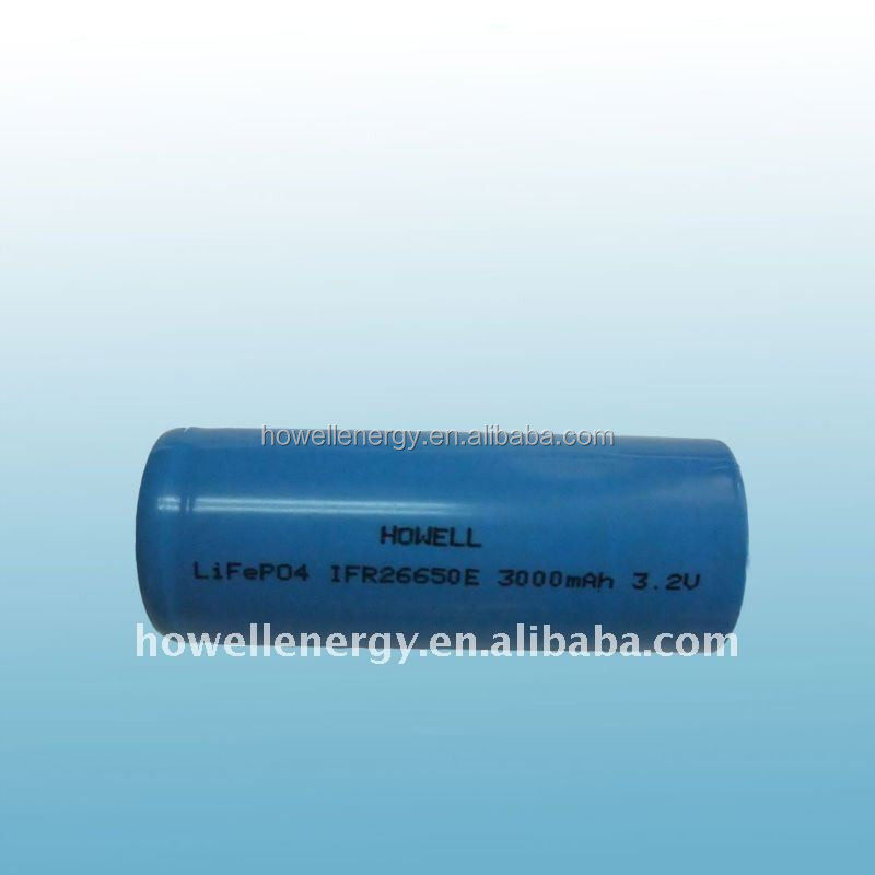 China Suppliers 3.2V 18650 26650 32650 LiFePO4 battery