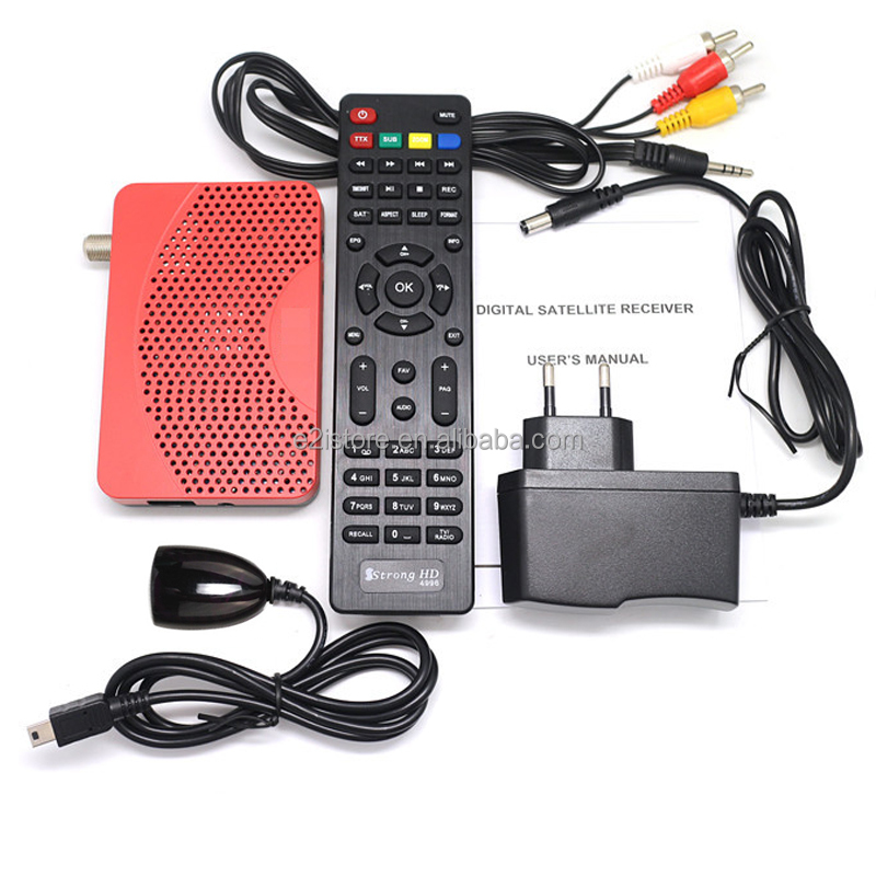 NT78304 1G 8M Flash DDR Mini Size Digital Satellite DVB-S2 DVB-S iptv Combo IKS m3u My tv Set Top Box FTA TV Receiver