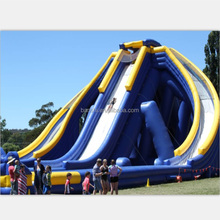 Guangzhou BANSHI manufacturer giant inflatable water slide for sale