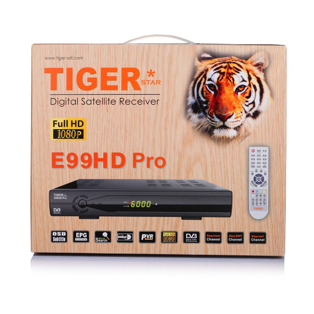 Tiger E99HD PRO IPTV Online Movie Watch Free Full Satellite Receiver