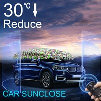SUNCLOSE car interior accessories front window shades type Auto Car Cover