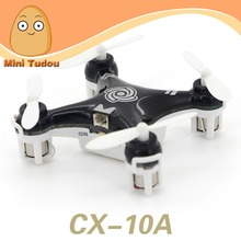 Minitudou Wholesale 4 Motor RC 4CH 2.4GHz Cheerson CX-10A Remote Control Drone Headless Mode Quadrocopter vs CX-10